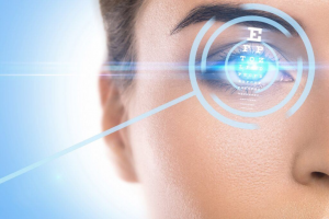 concepts of laser eye surgery and visual acuity check up